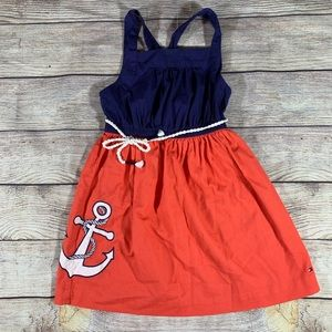 Hilfiger Nautical Sleeveless Dress Size 5